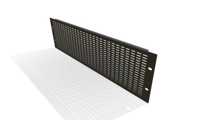 Vent Panels 3RU 3D Model