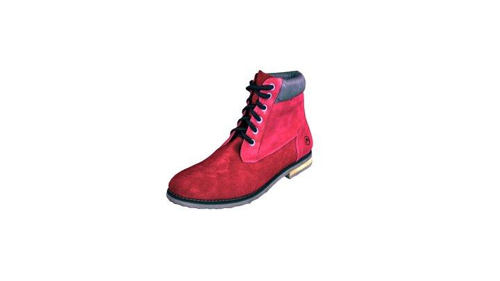Mestizo Zapatos de Origen 3D Model
