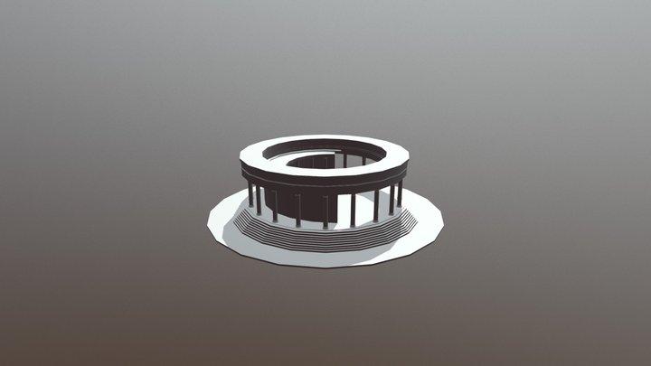 Pillars 3D Model