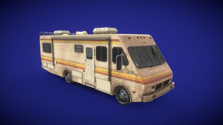 Breaking Bad RV - 1986 Fleetwood Bounder 3D Model