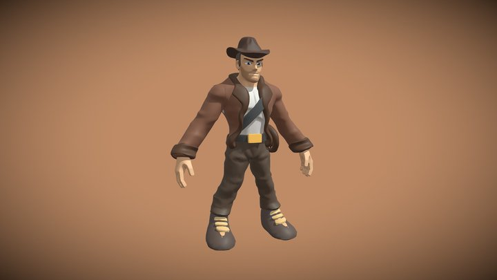 Sculptober Day 28: Adventure 3D Model