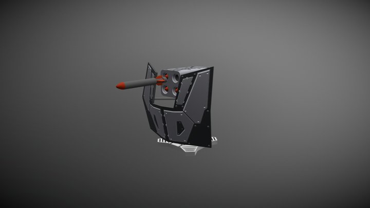 Rocket Lancher 3D Model