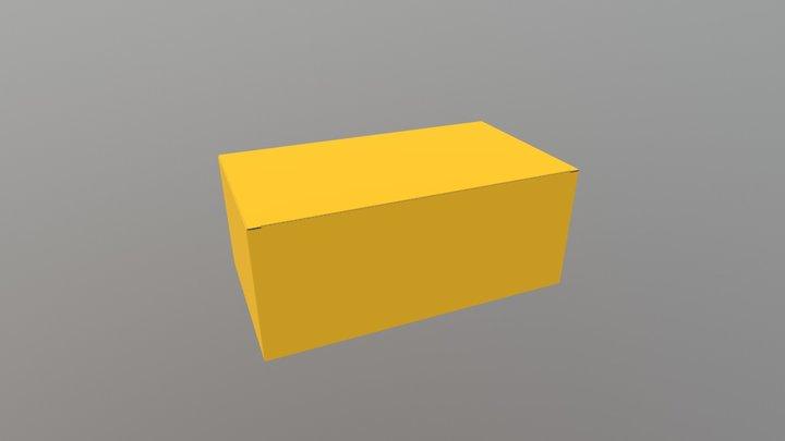 Plain Box 3D Model
