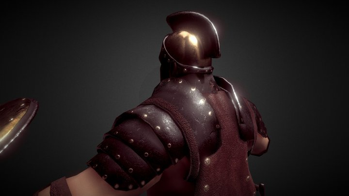 Warrior of Rome 3D Model