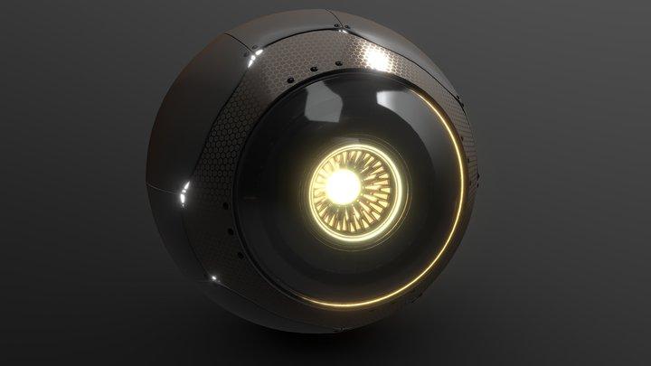 Eyeball 3D Model