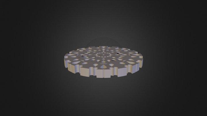 מנדלה 2 רוני ששון 3D Model