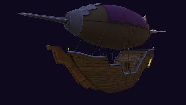 Deadite Zeppelin 3D Model