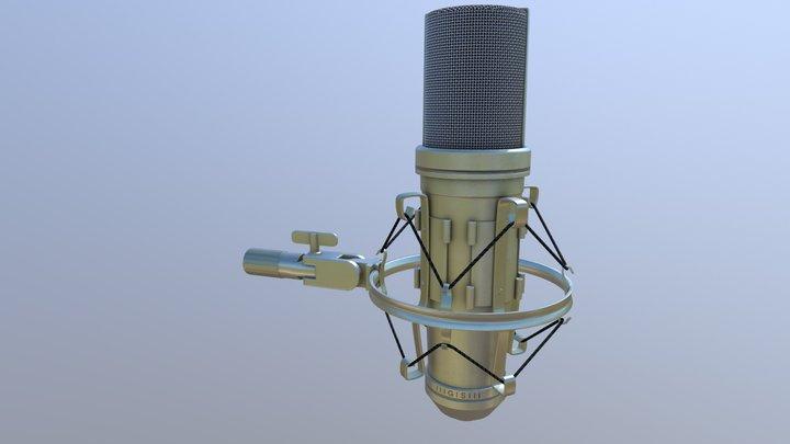 Gl TF Microphone 3D Model