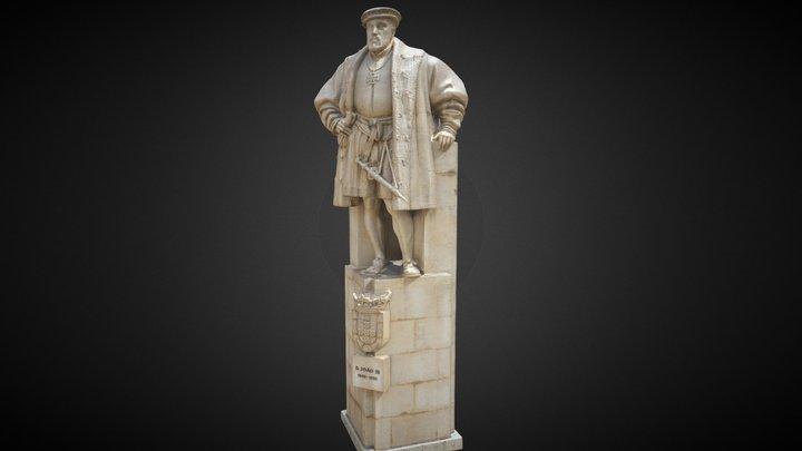 Statue of John III of Portugal 3D Model