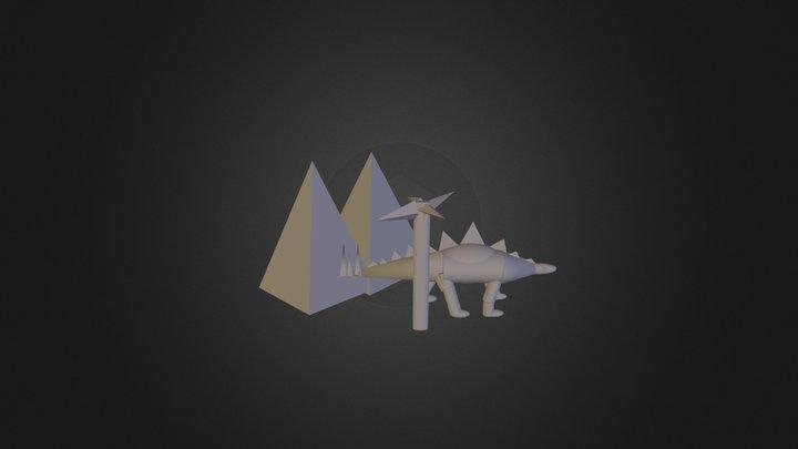 Final Dino2 3D Model