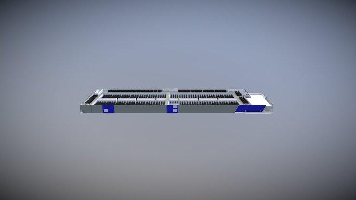 Aligned Energy Ashburn Phase 1 Level 2 3D Model