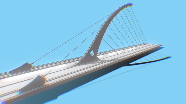 Calatrava Bridge 3D Model