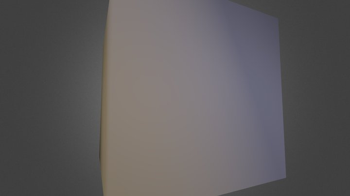 Krychle 3D Model