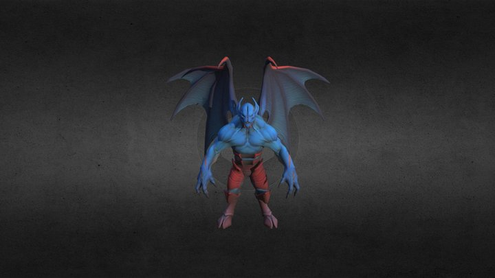 Nightstalker 3D Model