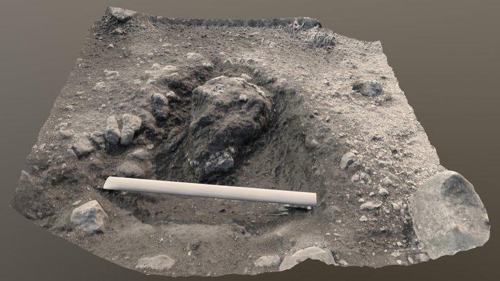 Yeavering BHT Burial 3D Model