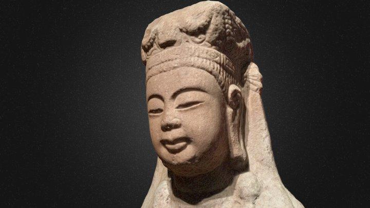 菩萨石像(隋朝) 3D Model