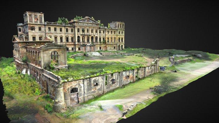Pałac w Sławikowie 3D Model