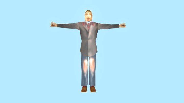 Matt Johnson 64 3D Model