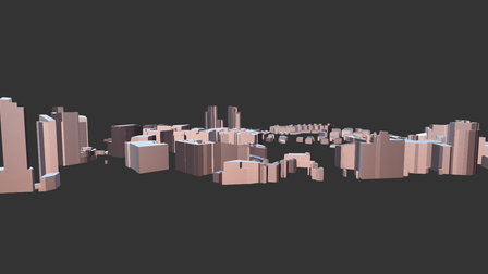 Singapore City Center (LIDAR) 3D Model
