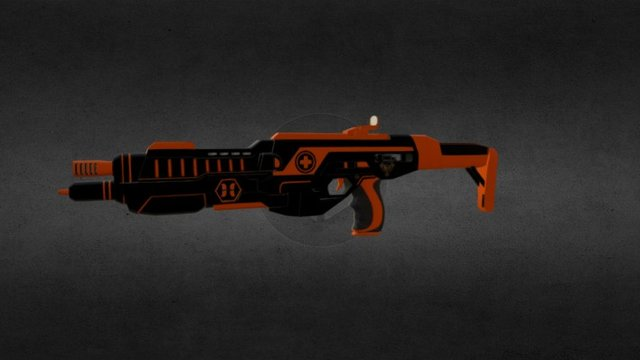 Medic Shotgun 3D Model