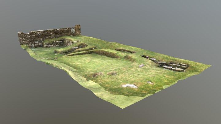 The Earl's Bu, Orphir, Orkney 3D Model