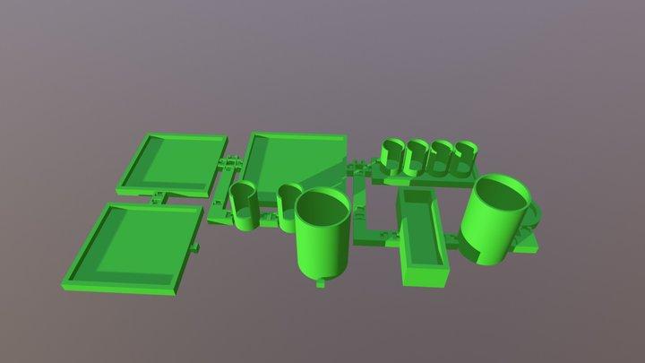 Organizer Set Preview 3D Model