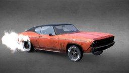 1969 Chevrolet Chevelle 3D Model