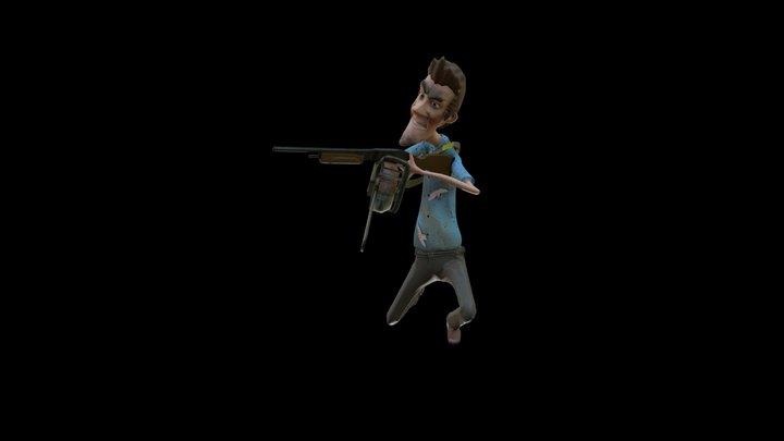 Ash Close & Personal 3D Model