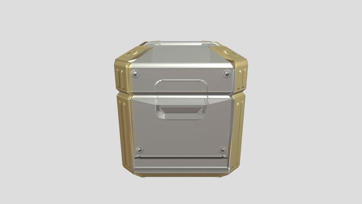GART130 sci fi crate 3D Model