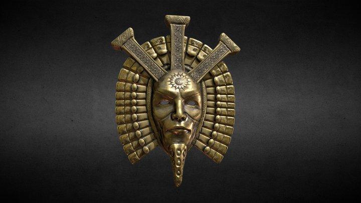 Mask of Dagoth Ur 3D Model