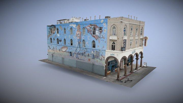 Abbot Kinney building  - Venice Beach 3D Model