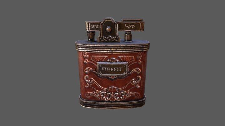 Vintage Lighter 3D Model