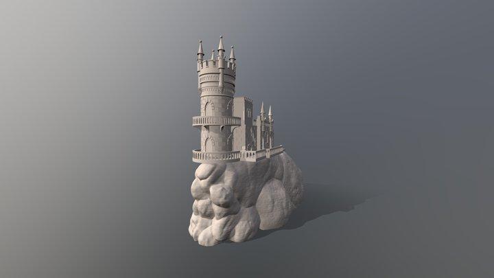 Ласточкино гнездо 3D Model