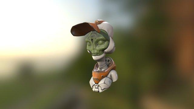 Alien Prof2 3D Model
