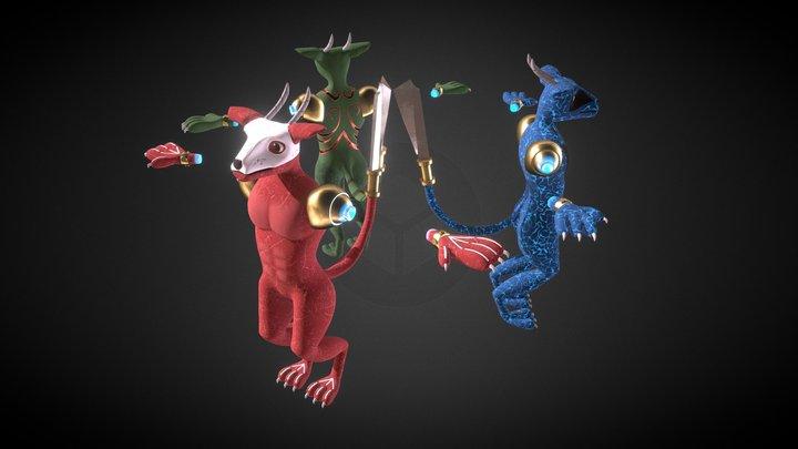 Monster Adult Alternatives 3D Model