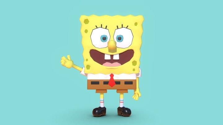 Spongebob 3D Model