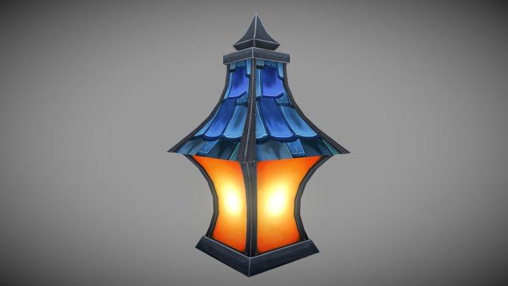 Gilnean Lantern 3D Model