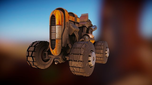 Traktor1 3D Model