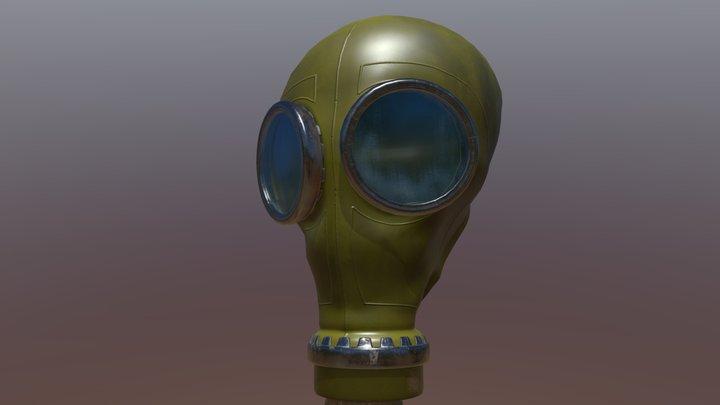 Polish Gas Mask 3D Model