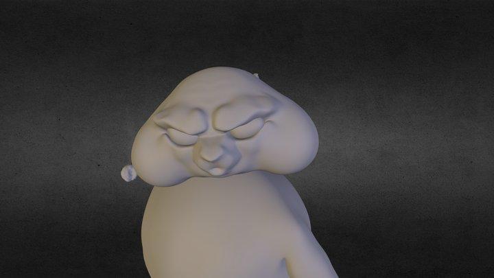 xomyak 3D Model