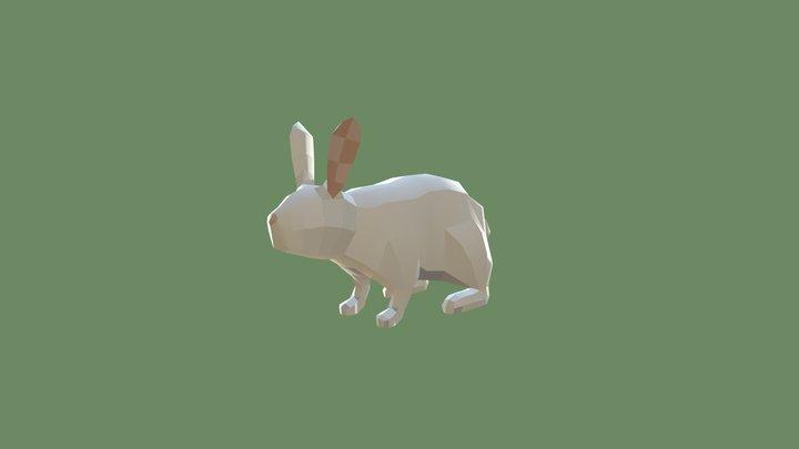 ECO - LowPoly Rabbit 3D Model