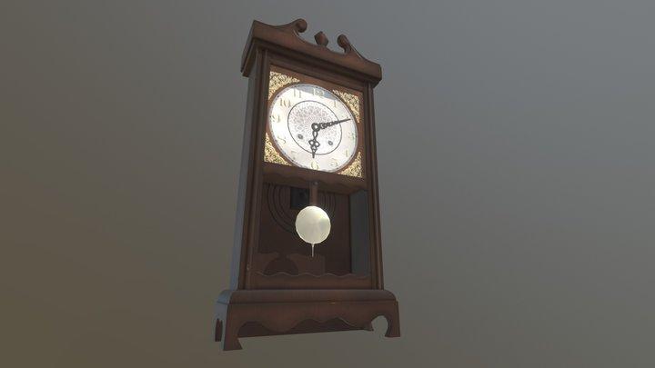 Wall Clock Model 3D Model