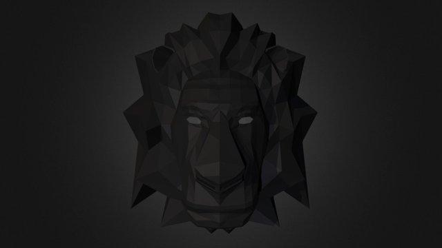 Diamond lion 3D Model