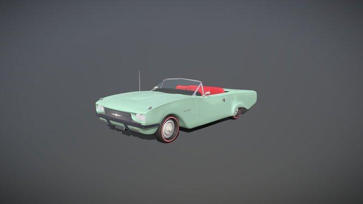 Ford Thunderbird '66 (Free Model) 3D Model