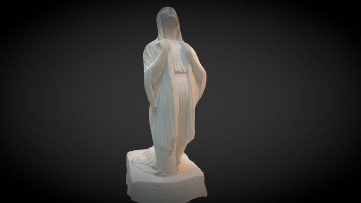 Bebådelsen - The Annunciation 3D Model