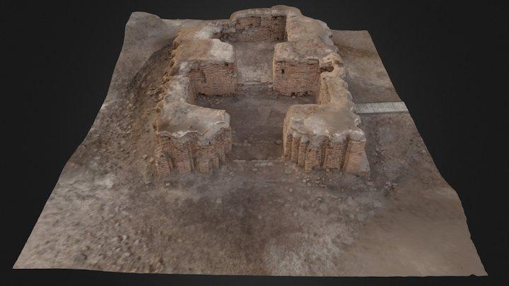 Edublamah, Ur (Irak) 3D Model