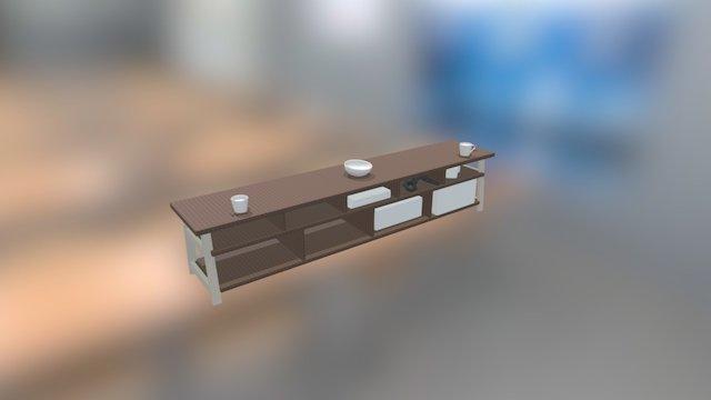 AV Unit 3D Model