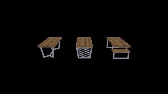 Loft.Table 3D Model