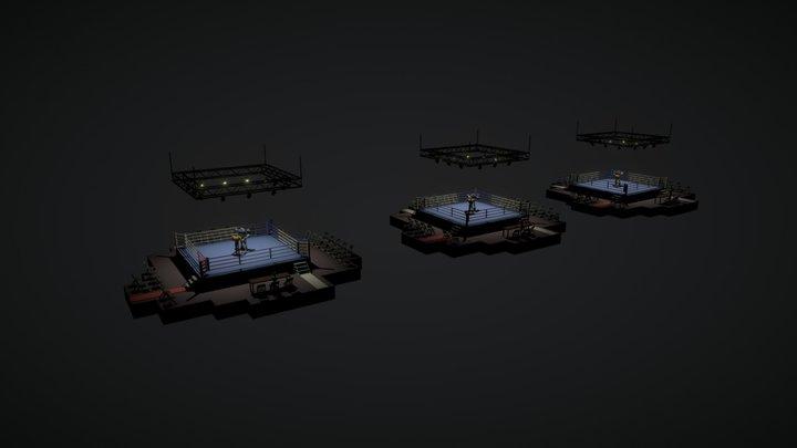 RoboBoxingClub 3D Model