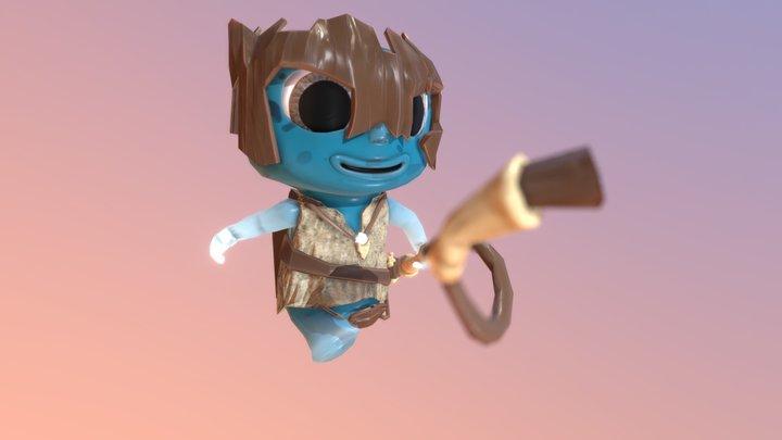 Krapule Boy 3D Model